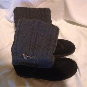 Xhilaration Black Boots Size 10
